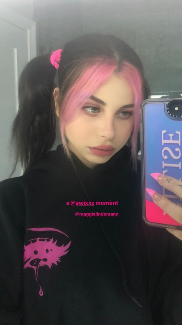 Pin By Mika On Hair In 2020 Hair Streaks Aesthetic Hair Dye My Hair