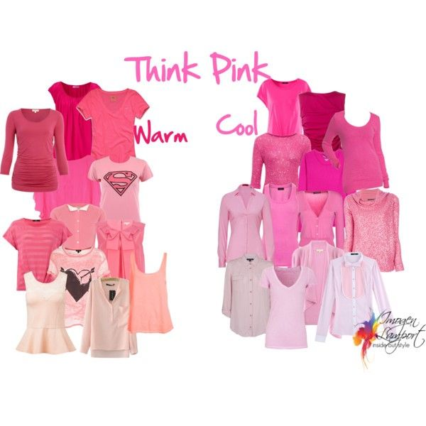 Think Pink   How to Pick the Undertone of Pink is part of Inside out style, Warm outfits, Style challenge, Warm spring colors, Deep winter colors, Deep autumn color palette - There are so many ways to use colour in your outfit  Pink is a versatile colour, the right shade of pink will make