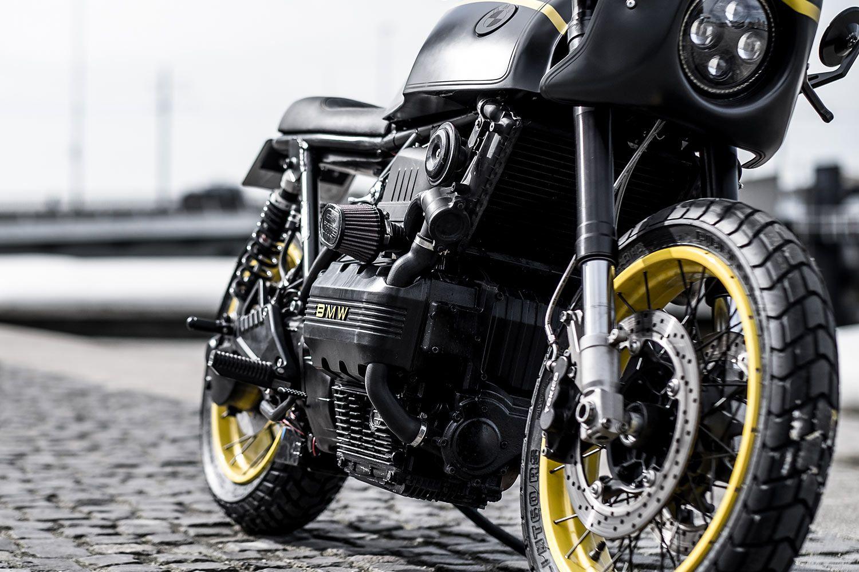 1987 bmw k75 cafe racer - moto adonis - pipeburn | bmw cycle