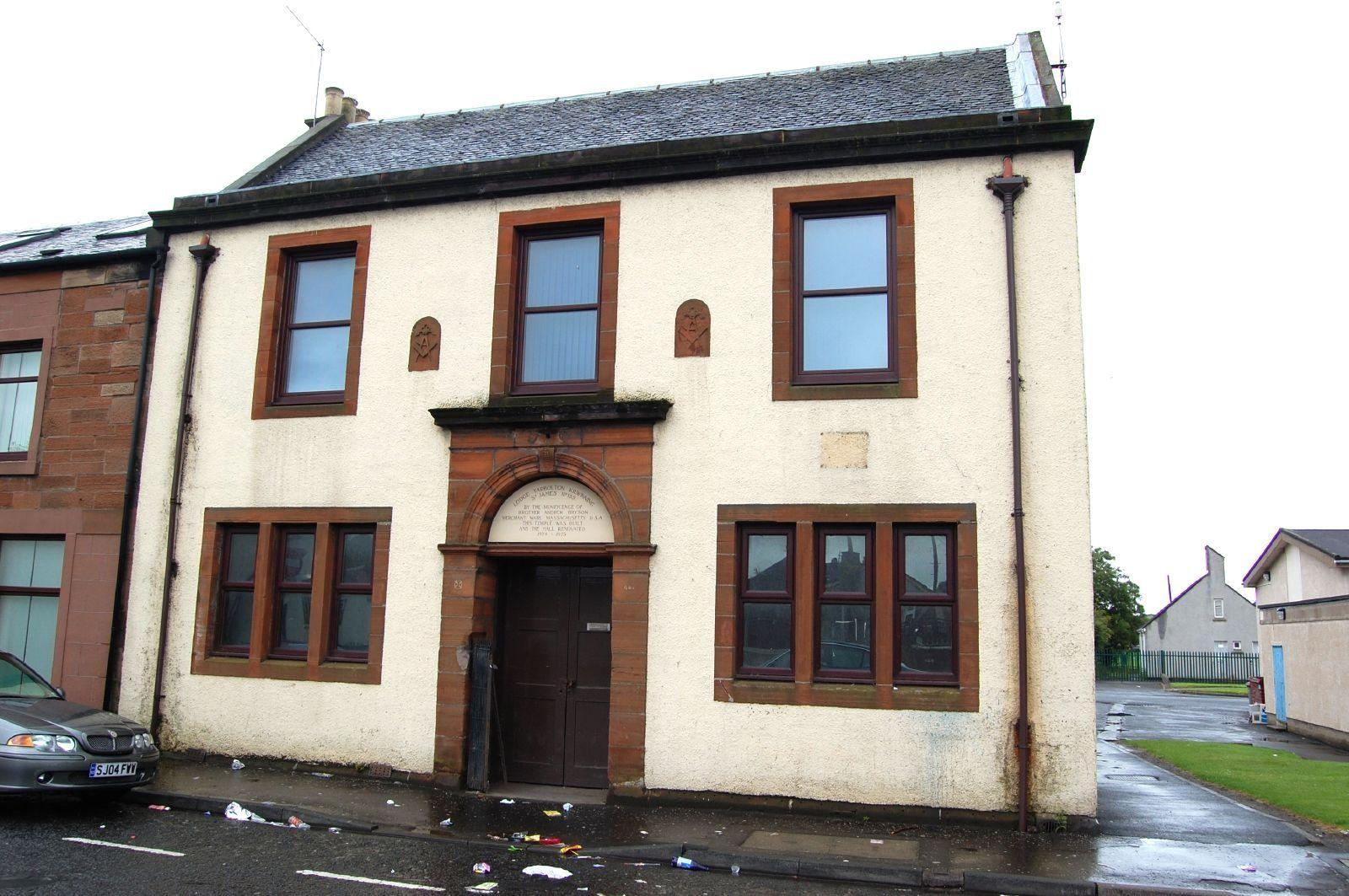 Lodge Tarbolton Kilwinning St James No 135 Tarbolton Ayrshire