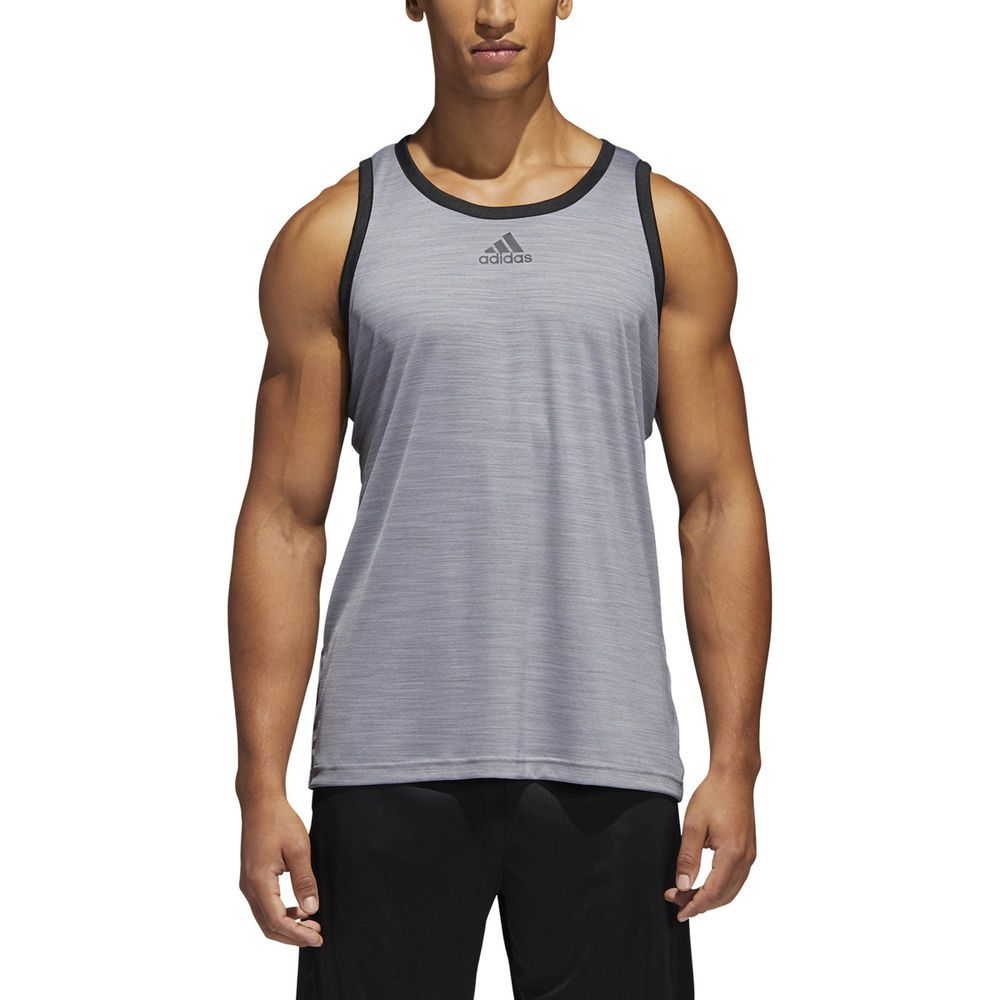c14d1a11b000dd Adidas Men s Heathered Tank Top Adidas  fashion  clothing  shoes   accessories  mensclothing