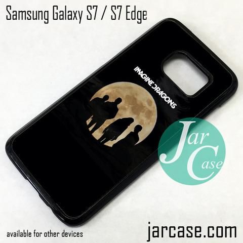 Imagine Dragons Moon Phone Case for Samsung Galaxy S7 & S7 Edge