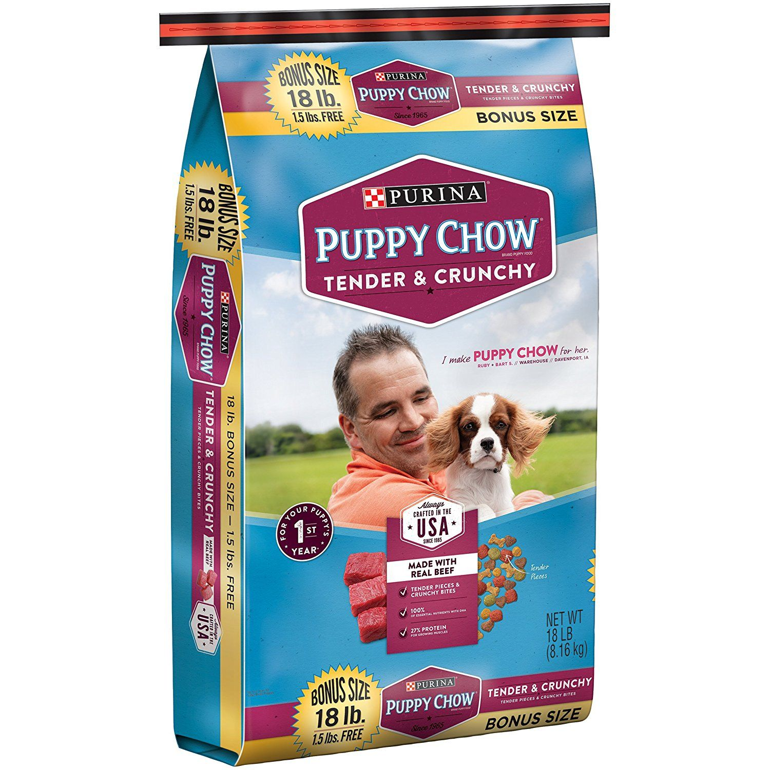 Essential Vitamins And Minerals Purina Puppy Chow Tender And
