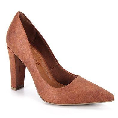 cb0a62226 Sapato Scarpin Feminino Bebecê - Caramelo Scarpin Bebece, Scarpin Feminino,  Lojas Americanas, Palmilha
