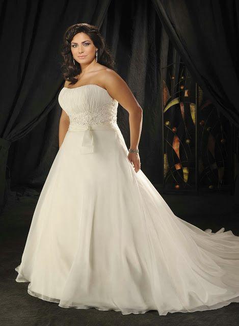 Vestidos de novias para mujeres rellenitas