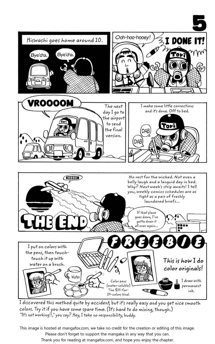 Dr. Slump 36 at MangaFox.me | Akira Toriyama - How I Draw Dr. Slump ...