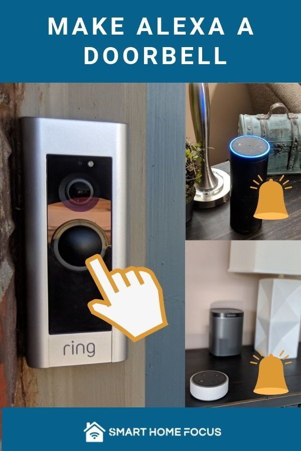 Ring Doorbell Alexa Chime Ring doorbell, Smart home