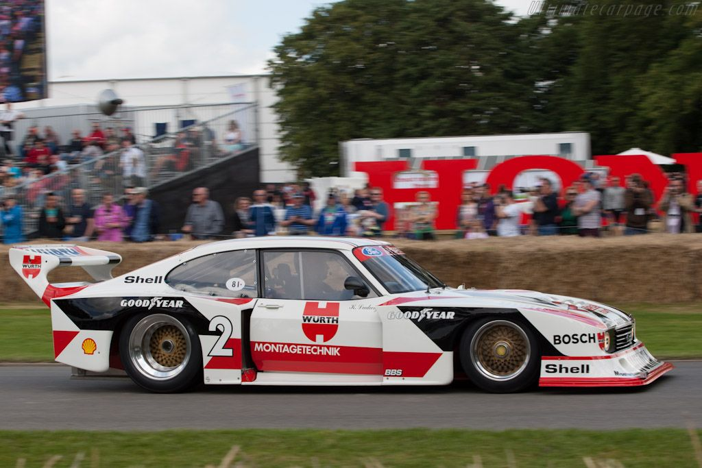 Ford Zakspeed Capri S N Zak G5c 001 81 2012 Goodwood Festival Of Speed High Resolution Image 4 Of 12 Ford Capri Ford Motorsport Touring Car Racing