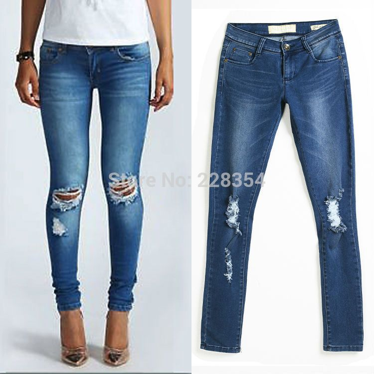 Cheap pant casual, Buy Quality jeans pants for women directly from ...
