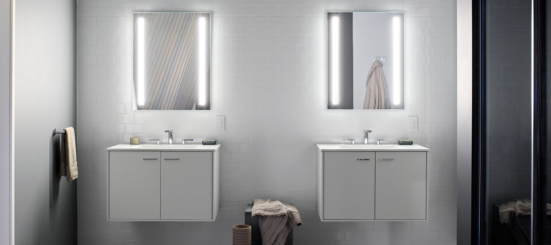 Kohler Verdera Lighted Mirrors And Medicine Cabinets Interior Paint House Paint Interior Interior Paint Colors [ 800 x 1800 Pixel ]