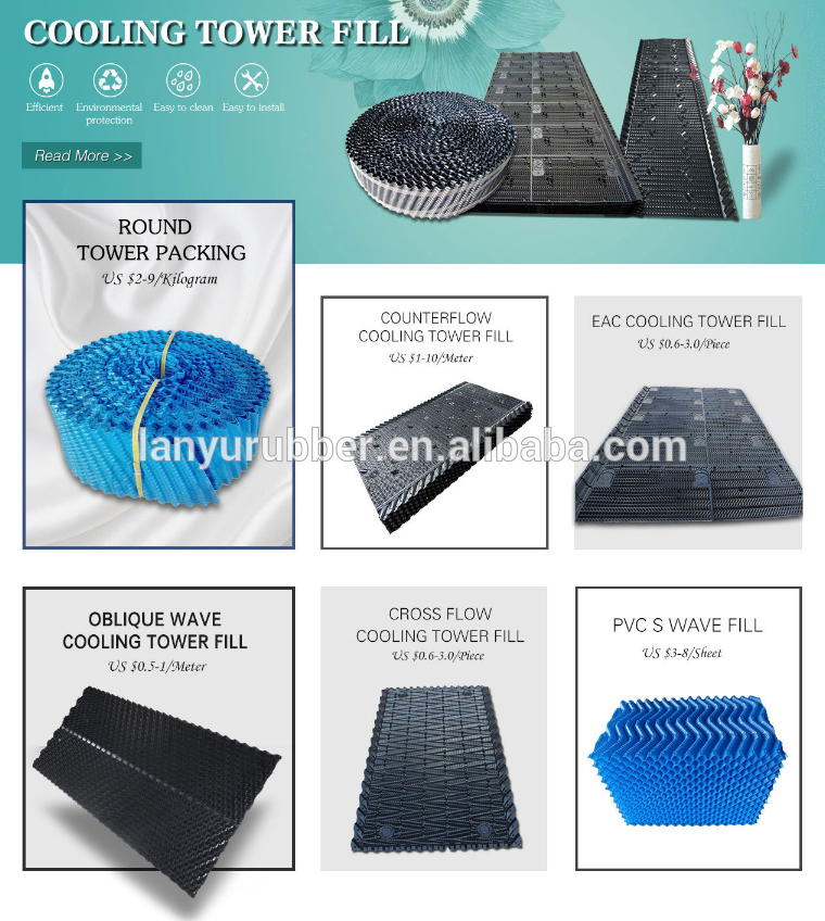 Pin By Cathy On Lanyu Rubber Products S Wave Cooling Tower Rodder