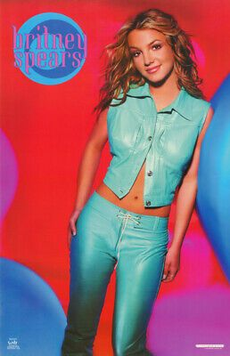 , POSTER:MUSIC: YOUNG BRITNEY SPEARS  – BLUE PANTS – FREE SHIP   #9042   RP67 N  | eBay, My Pop Star Kda Blog, My Pop Star Kda Blog