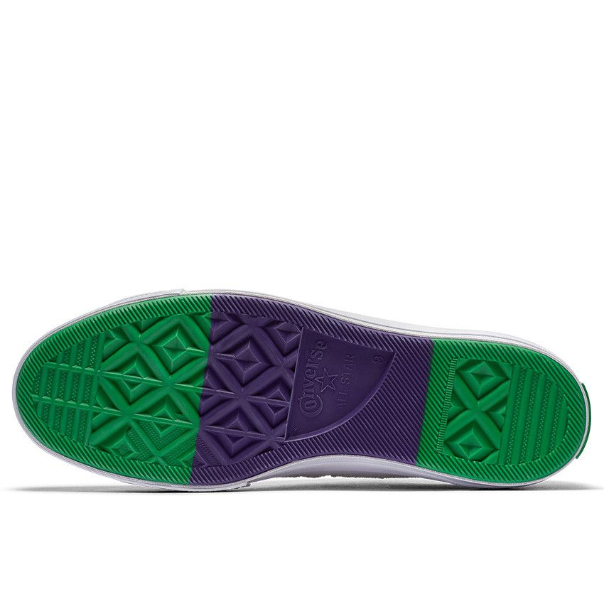 8d4df4902f31c5 One Star Grand Slam Low Top in White Court Purple Green