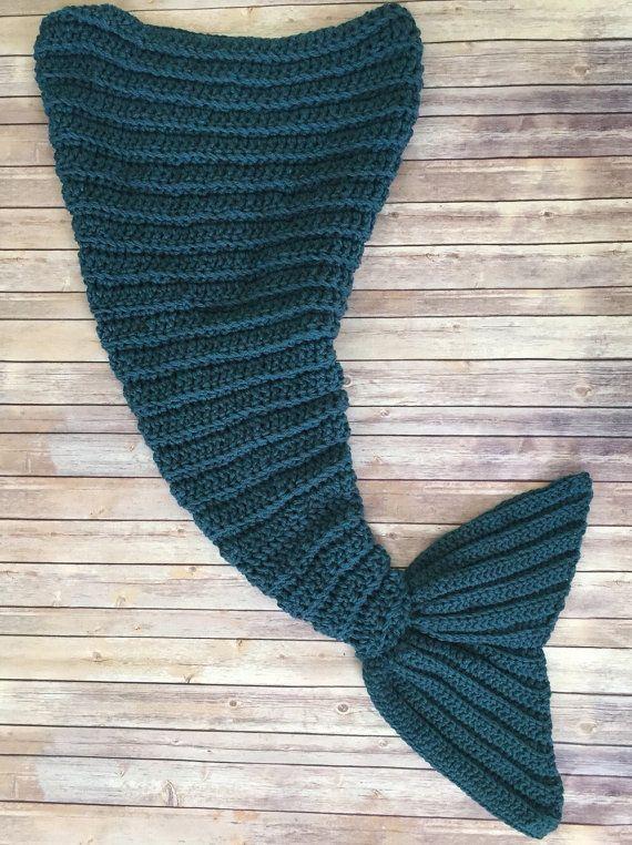 Mermaid Tail Blanket, Afghan, Crochet | Meerjungfrauen, Decken und ...