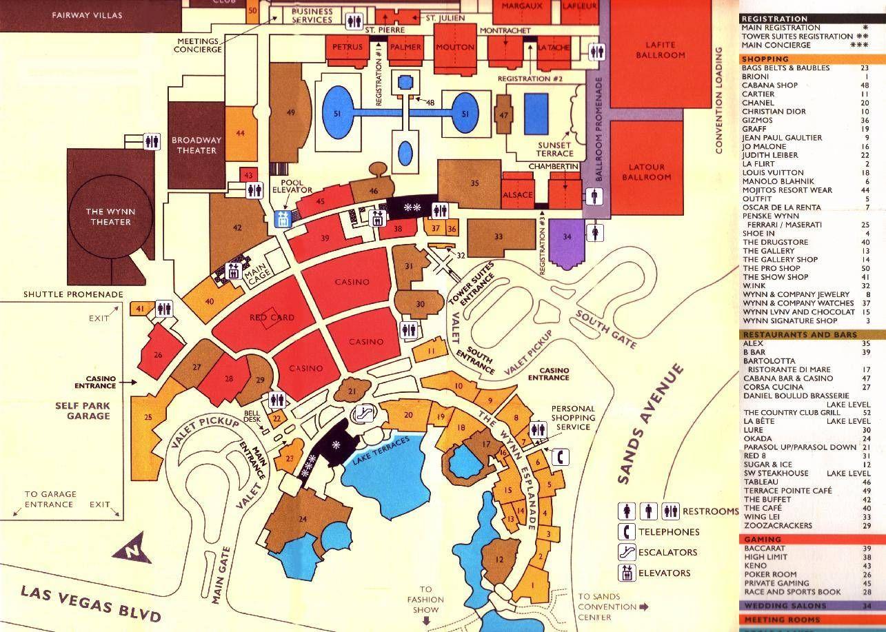 Las Vegas Stadtplan