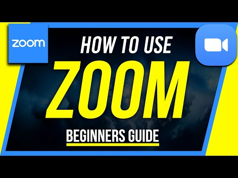 (1255) How to Use Zoom Free Video Conferencing & Virtual