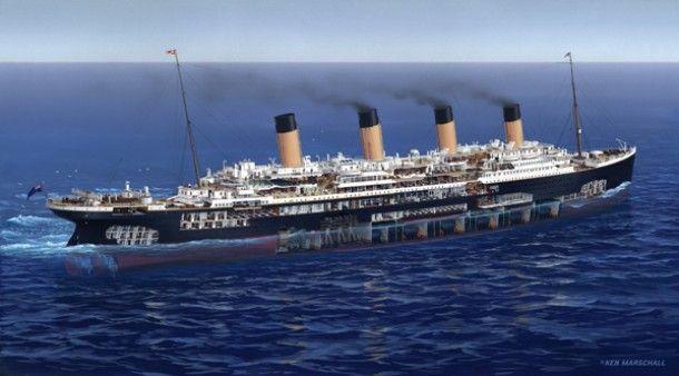 Titanic The Art Of Ken Marschall National Geographic Channel Titanic Titanic Ship Rms Titanic