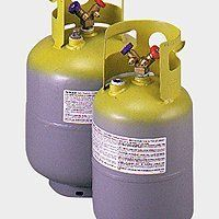 Yellow Jacket 95007 50 Lb Yellow Gray 1 4 Flare No Float Refrigerant Recovery Tank By Yellow Jacket Home Kitchens Air Conditioner Accessories Recovery Tank