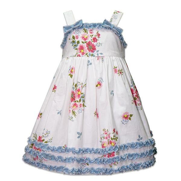 laura ashley pink and blue floral toddler dress v tements enfants 1 pinterest vetement. Black Bedroom Furniture Sets. Home Design Ideas