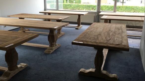 Teak Kloostertafel Erosie 240x100cm Home Decor Decor Furniture