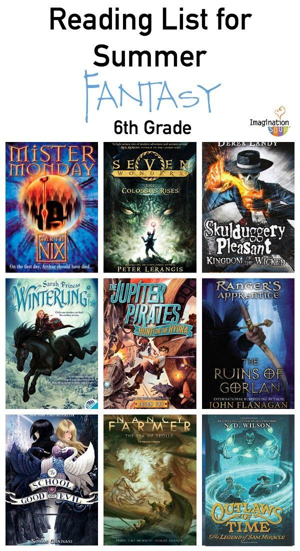 7th Grade Summer Reading List Ages 12 13 Summer Reading