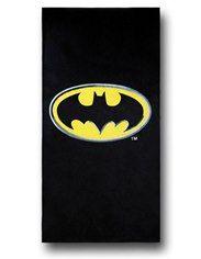 Batman Symbol Black Beach Towel