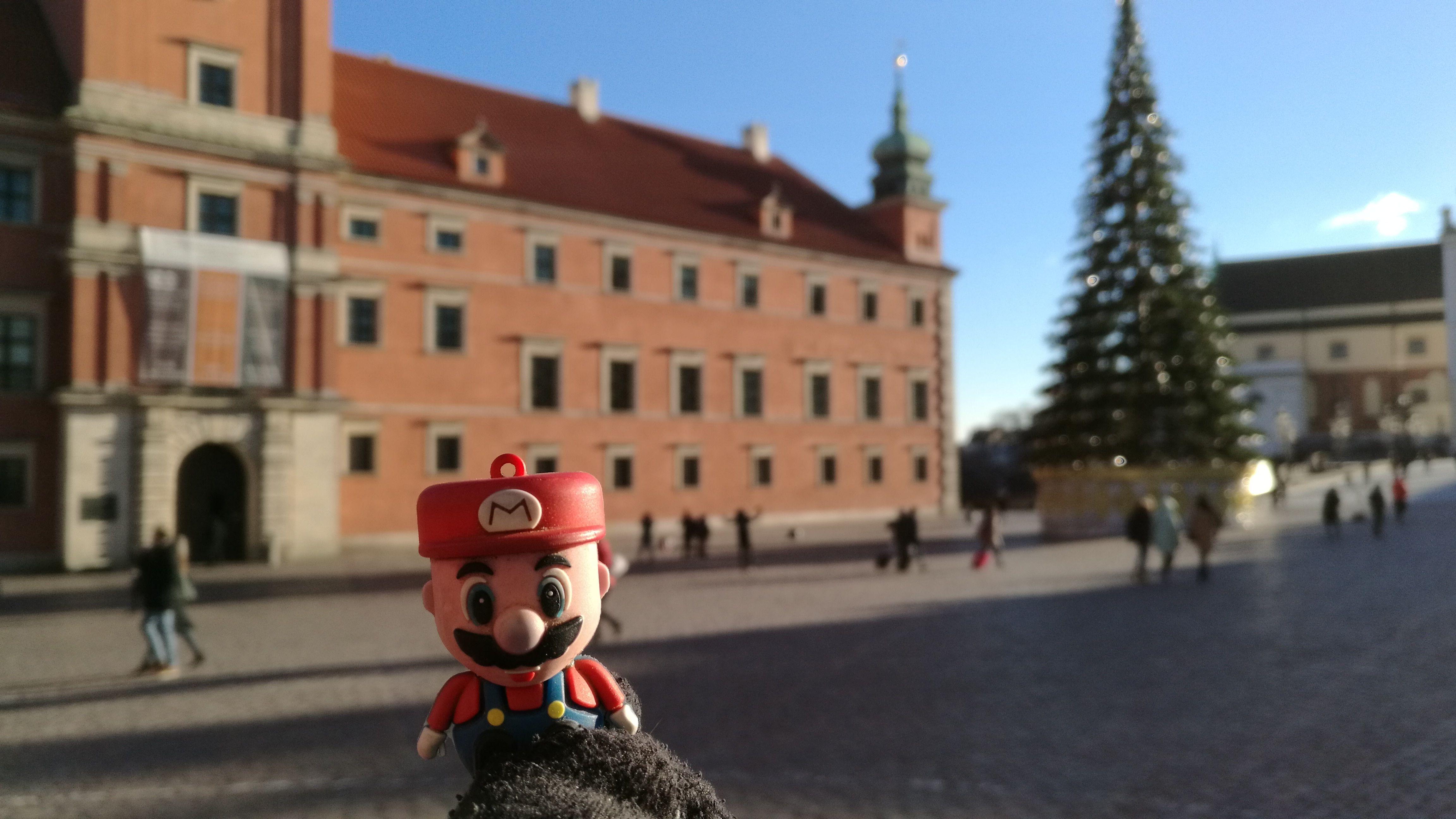 En Varsovia, en el centro histórico