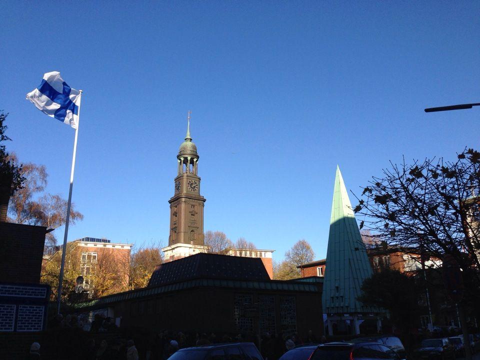 Finnische Seemannskirche