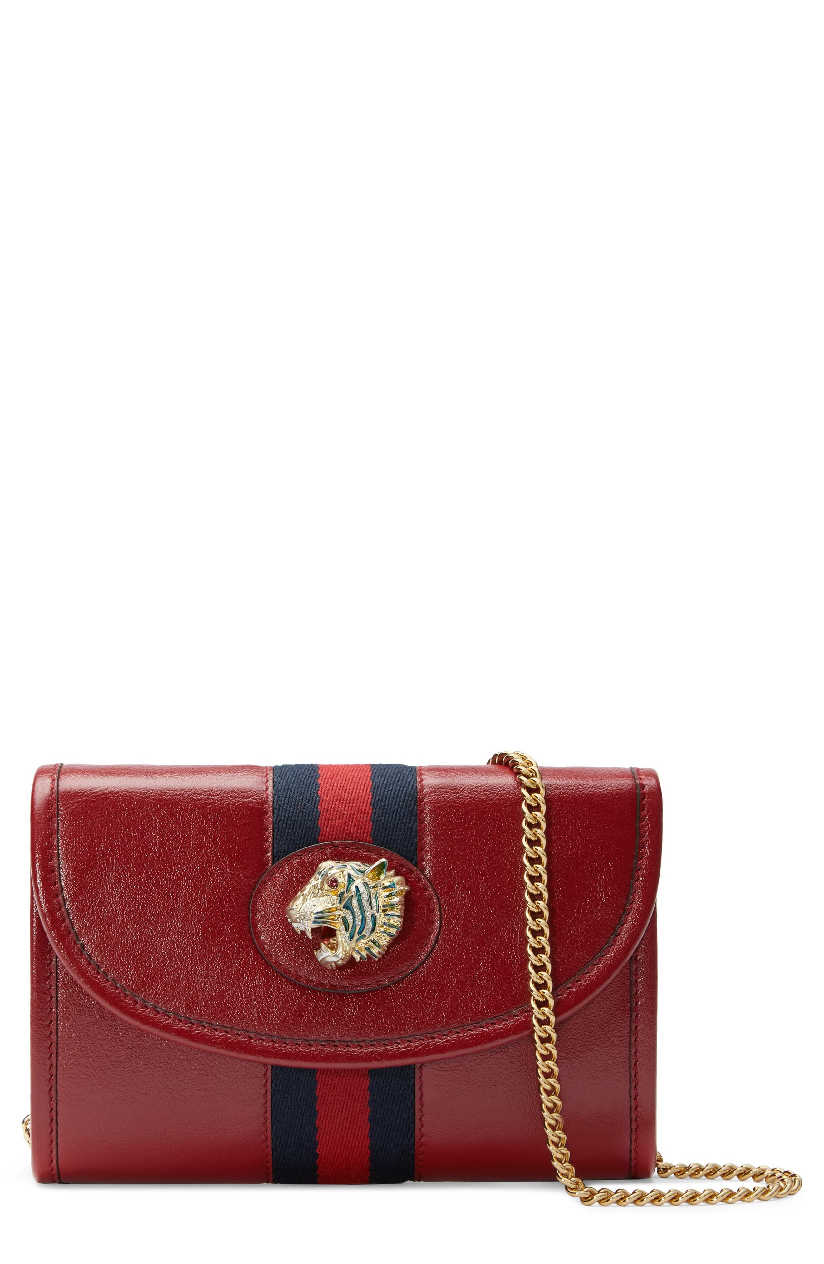 3a53e5cf8 Gucci Mini Rajah Leather Crossbody Bag in 2019 | Products | Leather ...