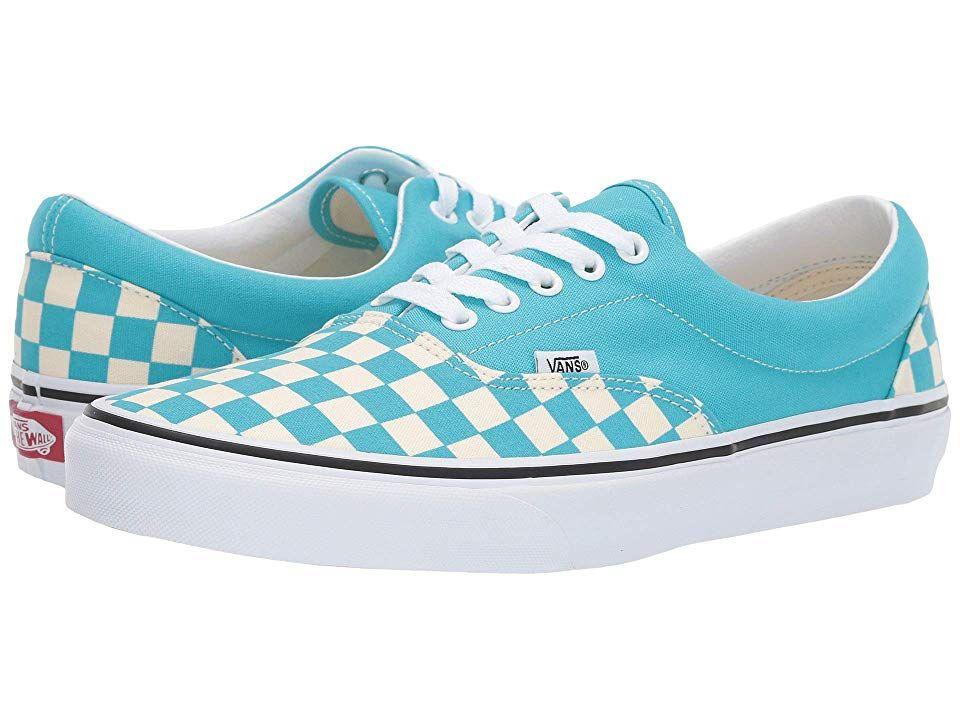 Vans Era Shoes (Checkerboard) Scuba
