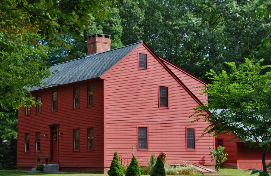 The Saltbox Colonial Exterior Colonial House Saltbox Houses