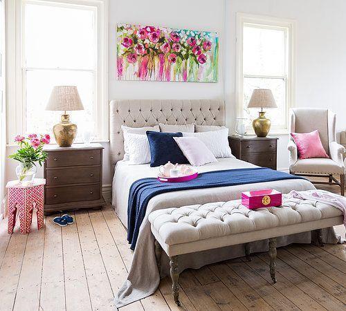 Decoracion de recamaras matrimoniales Feminine bedroom - decoracion de recamaras matrimoniales