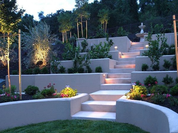 unmistakable greek influence in this design feels fresh on backyard landscape architecture inspirations id=66396