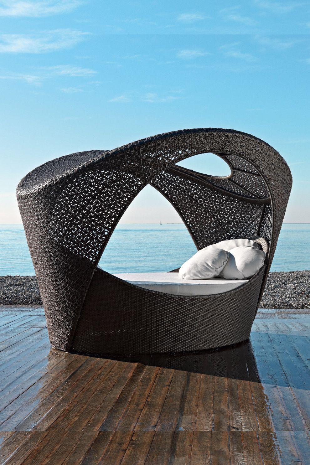 Designer Outdoor Möbel altea varaschin designer outdoor bett http linenda de xtc