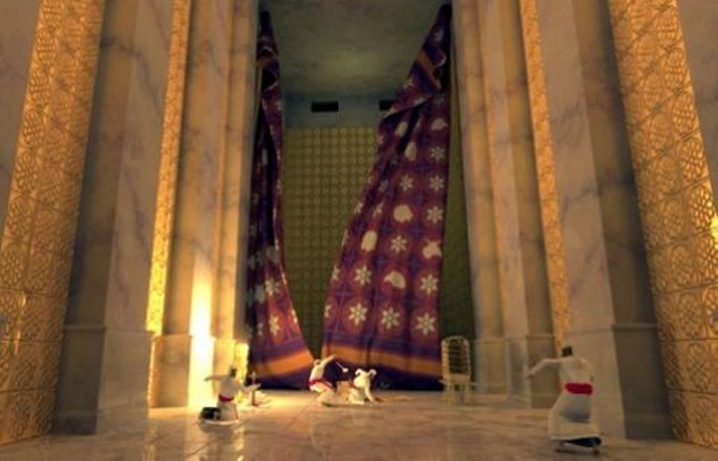 Image result for jerusalem temple curtain torn