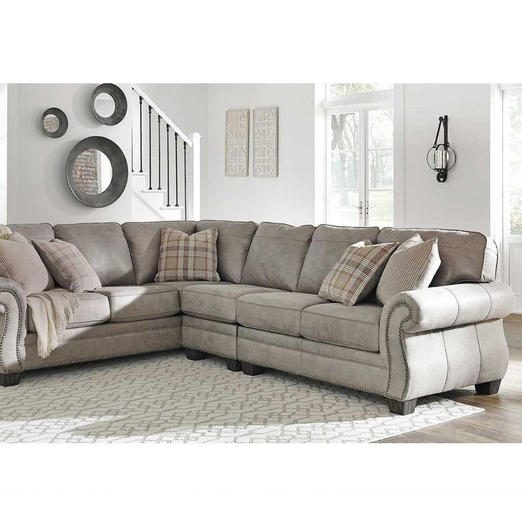 Best 3 Piece Olsberg Sectional Living Room Collection Living 400 x 300