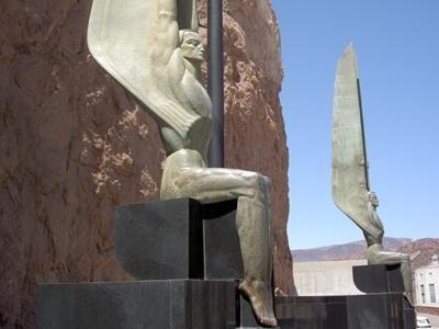 Hoover Dam Art Deco Statues