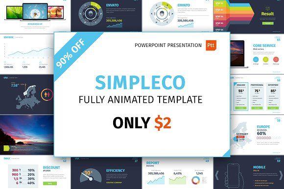 SIMPLECO Power point presentation Pinterest Power point