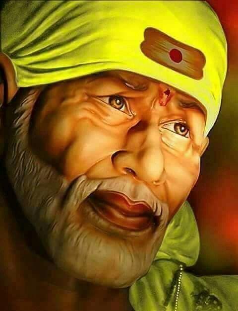 Pin By Karu Madhavi On God Sai Baba Hd Wallpaper Sai Baba Sai