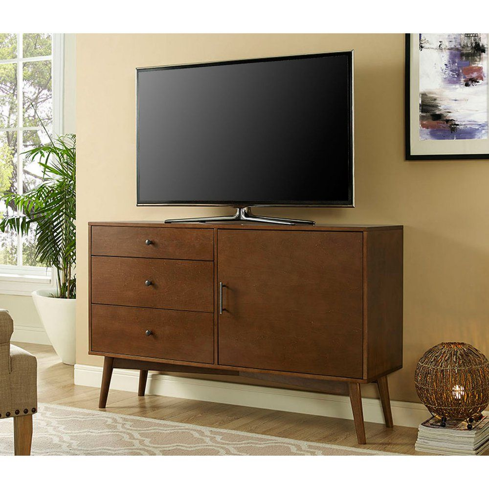 occ tone with tv two centers door studio dark modern store century entertainment wholesale stands sliding white mid cabinet and p armani baxton drawer walnut finish wood