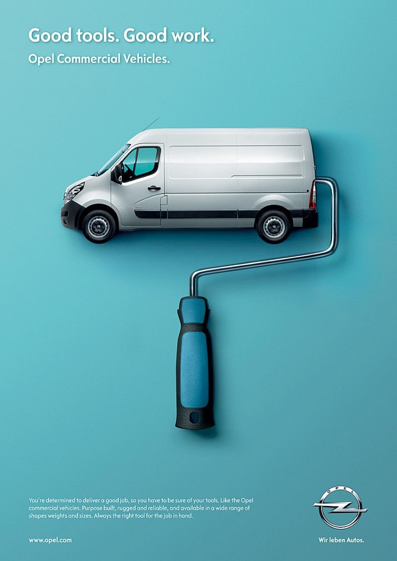 Opel LCV – Good tools. Good work