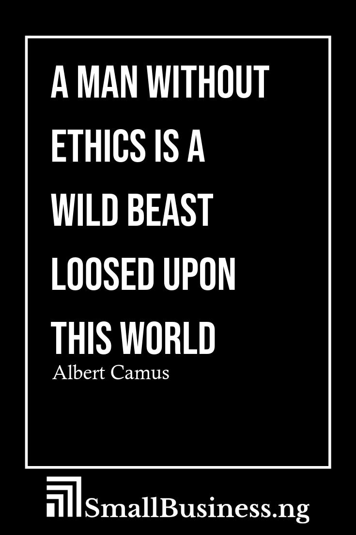 Business Ethics Quotes Smallbusinessify Com Business Quotes Funny Ethics Quotes Inspirational Words