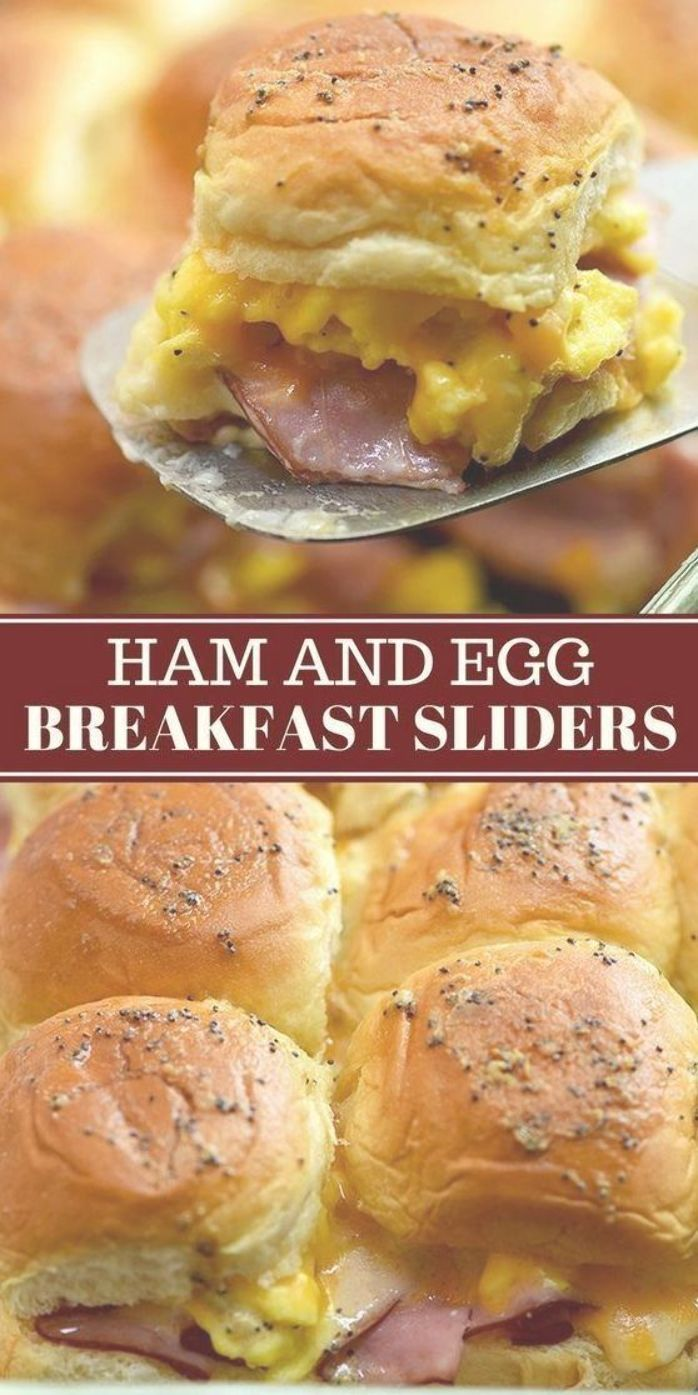 Ham Egg and Cheese Breakfast Sliders with your favorite breakfast fixings, Hawaiian rolls, and a delicious Dijon poppyseed glaze. They're easy to make and can be prepped ahead. Perfect for brunch or game day! #breakfast #sliders #sandwiches #partyfood #brunch #appetizers #fingerfoods #ham #easyrecipes #weeknightdinner #comfortfoods #breakfastslidershawaiianrolls Ham Egg and Cheese Breakfast Sliders with your favorite breakfast fixings, Hawaiian rolls, and a delicious Dijon poppyseed glaze. They' #breakfastslidershawaiianrolls