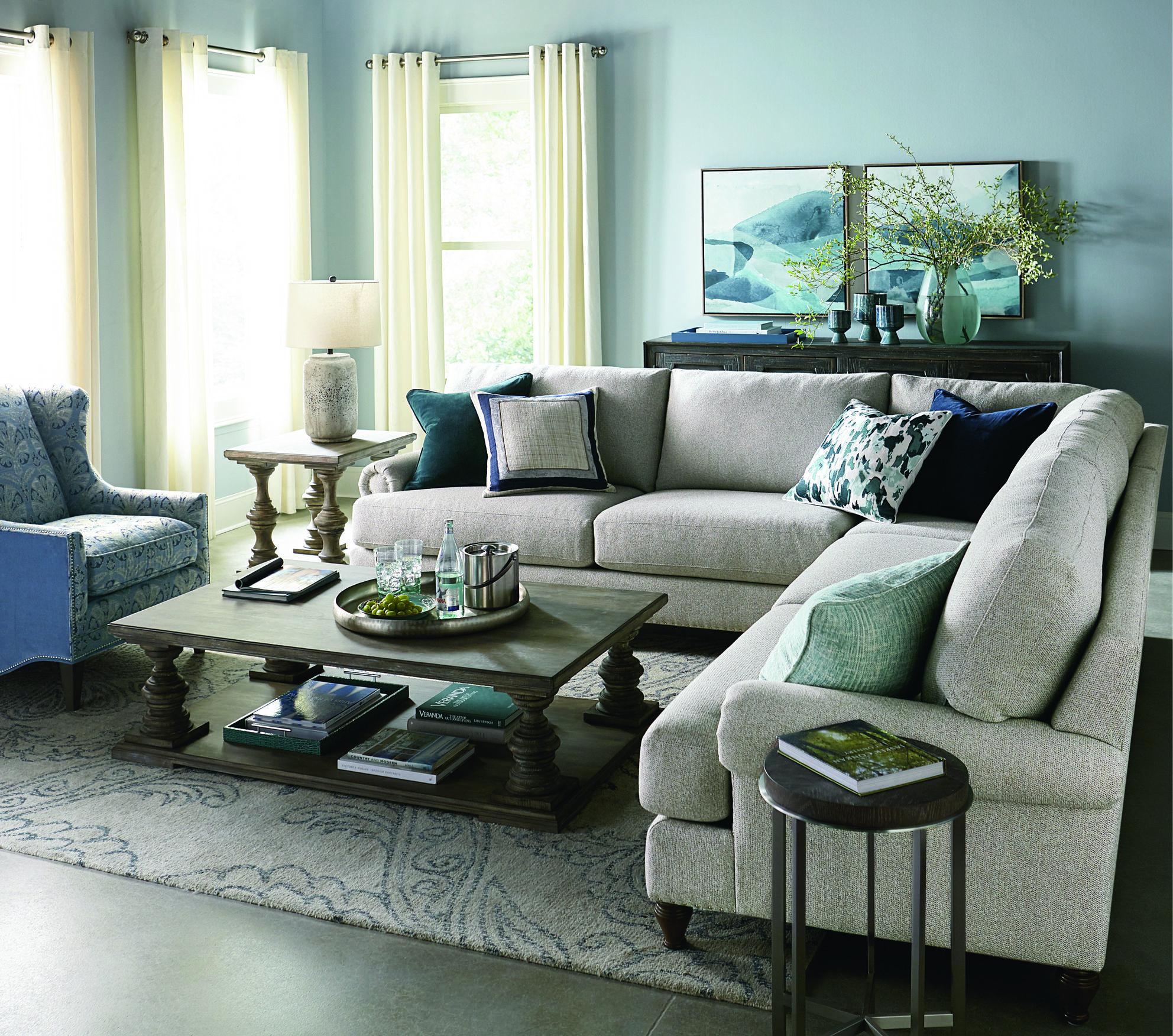 The Hunter Sectional By Bassett Furniture Bassett Furniture