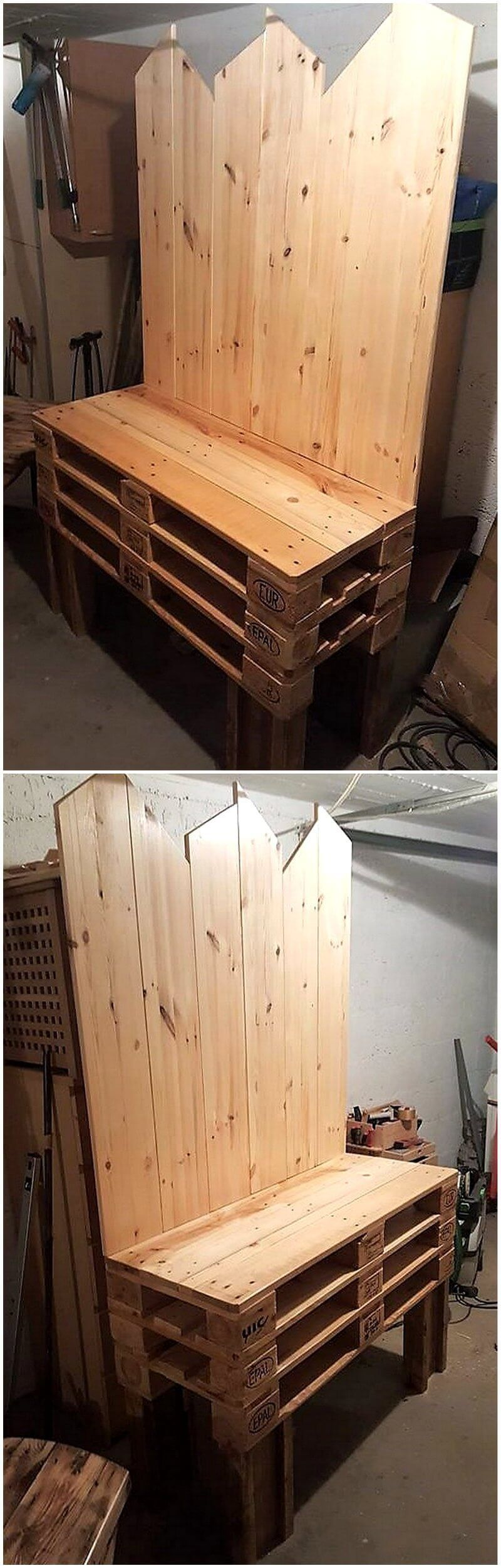 Ingenious Ideas to Reuse Shipping Wood Pallet #oldpalletsforcrafting