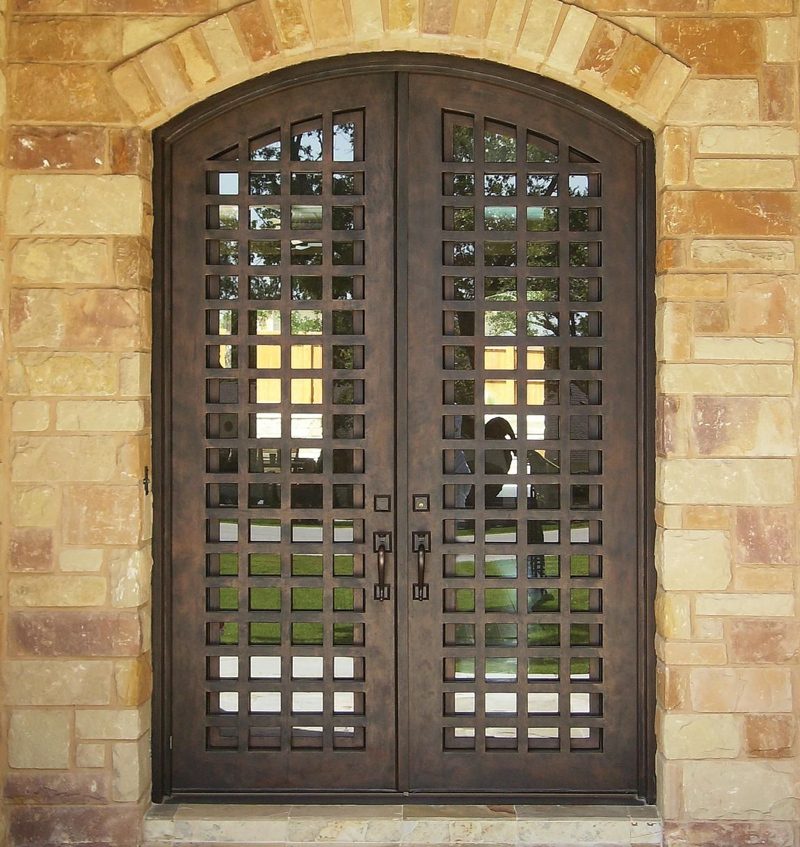 Love this design...Wrought Iron Line | Durango Doors Suite 300 at ...