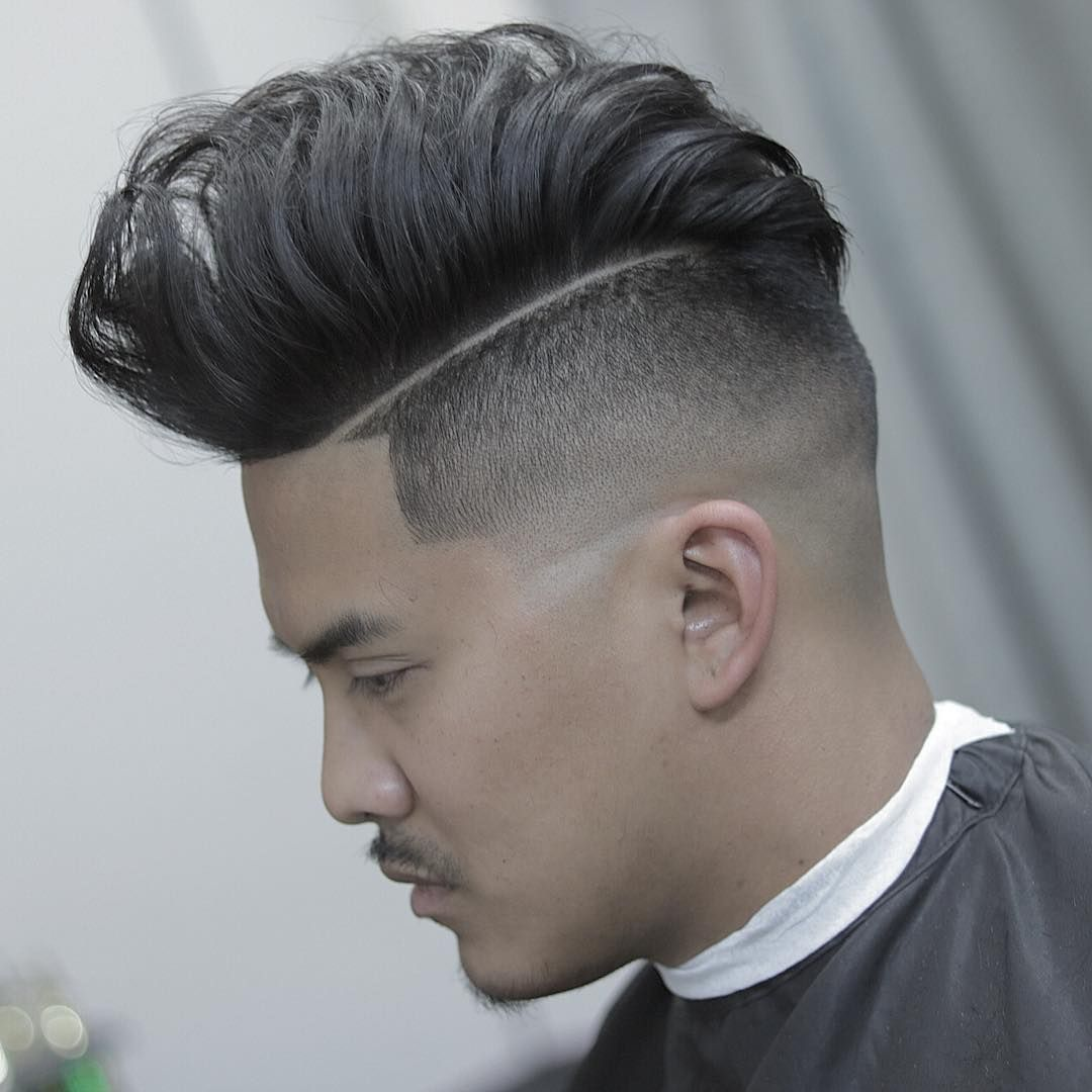 Pompadour Hairstyles Faded Pompadour Hairstyles For Asian Men  Asian Men Hairstyles
