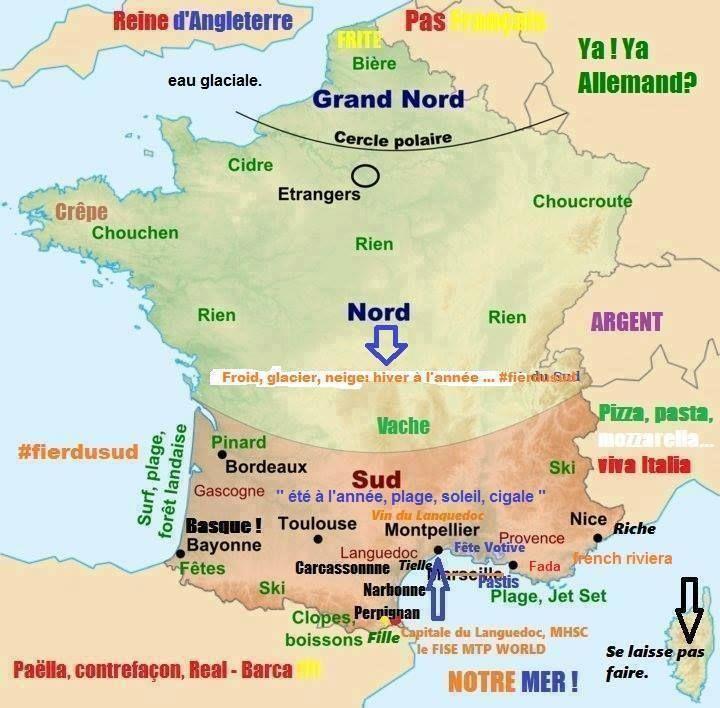 Comment Les Sudistes Voient La France Et Les Autres Pays Qui Les