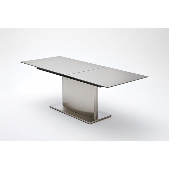 The Extendable Table Is A Modern And Unique Style Of Livingthe Interesting Extendable Glass Dining Room Table Decorating Design