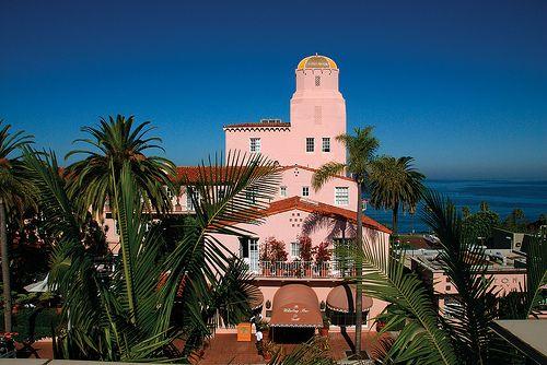 La Valencia Hotel In La Jolla Ca La Valencia Hotel California